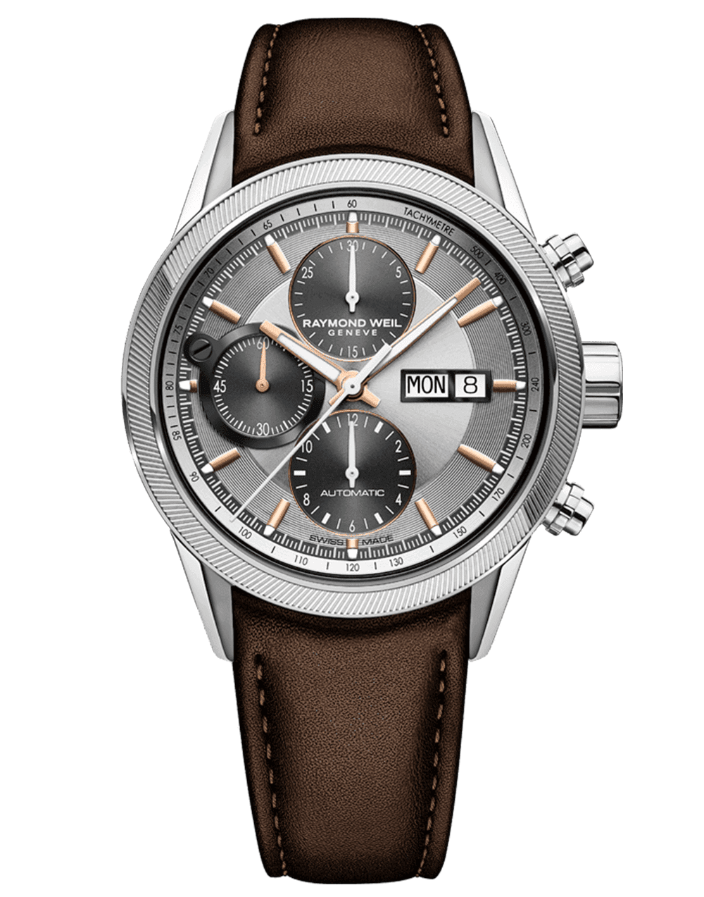 RAYMOND WEIL Automatic Chronograph Freelancer Luxury Swiss Watch