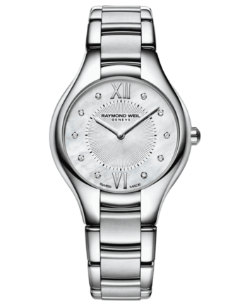 Raymond Weil Geneve Mother of Pearl Dial Ladies Watch