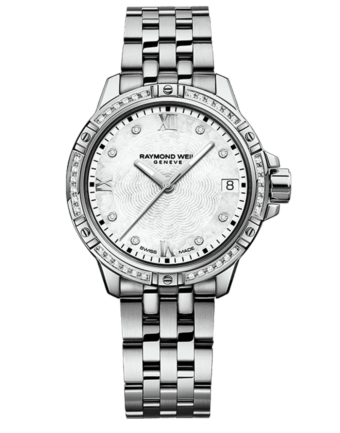 Raymond Weil Geneve Diamon Steel Bracelet Ladies Luxury Watch