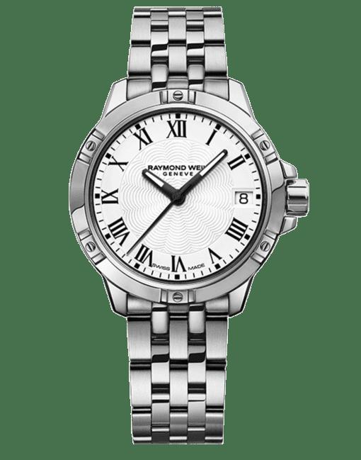 Raymond Weil Geneve White Dial Ladies Luxury Watch