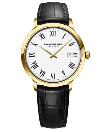 RAYMOND WEIL Geneve Toccata White Dial Men's Luxury Watch