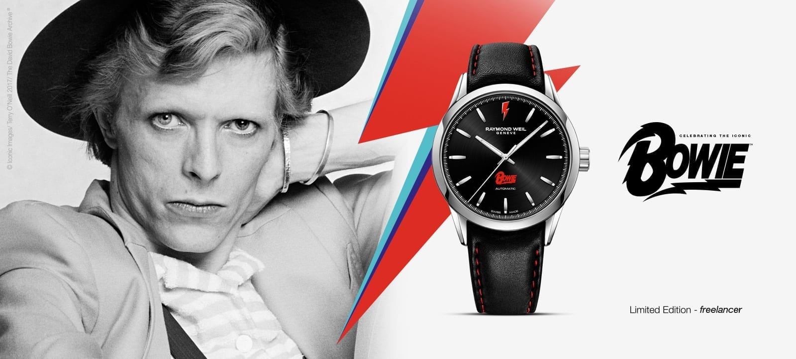 David Bowie Limited Edition Freelancer RAYMOND WEIL