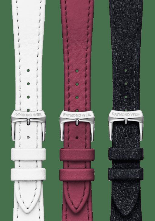 shine blanc couture cristal carbone repetto leather straps
