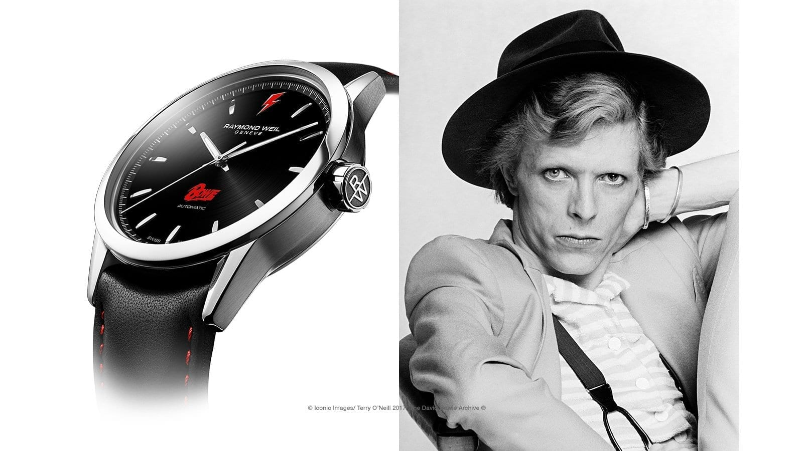 RAYMOND WEIL | David Bowie Birthday Celebration Limited Edition Raymond Weil Freelancer Luxury Watch