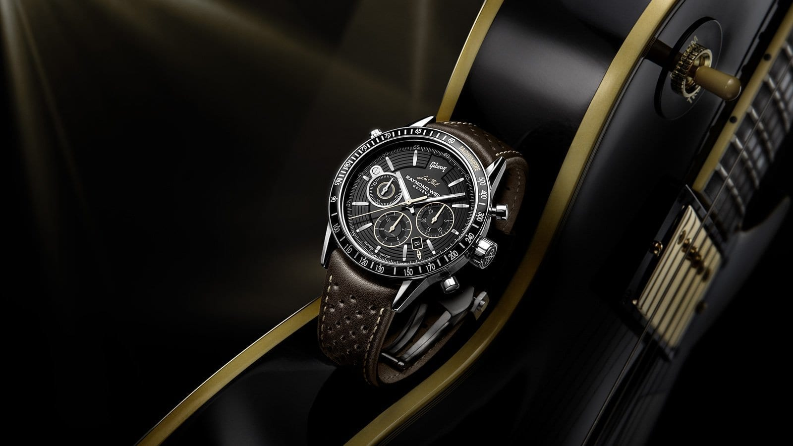 RAYMOND WEIL | Les Paul Limited Edition Raymond Weil Freelancer Luxury Watch