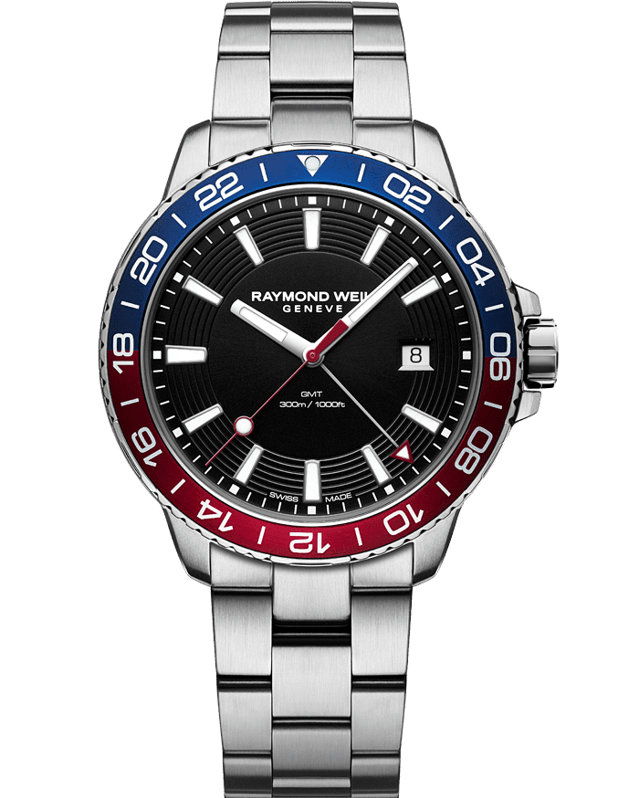 Red and Blue Raymond Weil