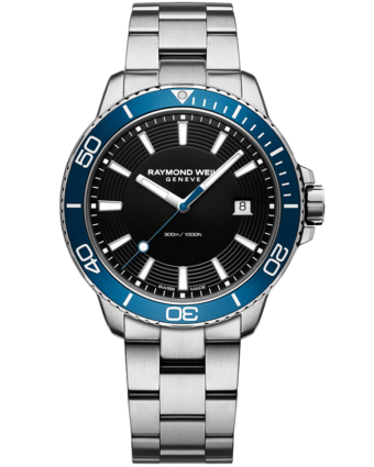 RAYMOND WEIL tango 300 men's steel blue diver watch