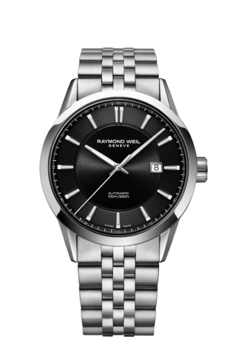2731-ST-20001 men's black automatic date watch