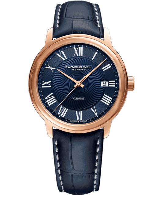 Raymond Weil Geneve Luxury Maestro Watch Rose Gold