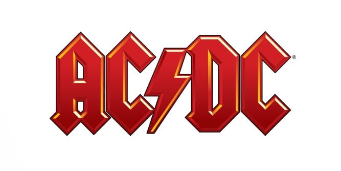 ACDC Text Logo