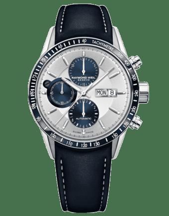 RAYMOND WEIL Men's Freelancer Chronograph Luxury Swiss Watch