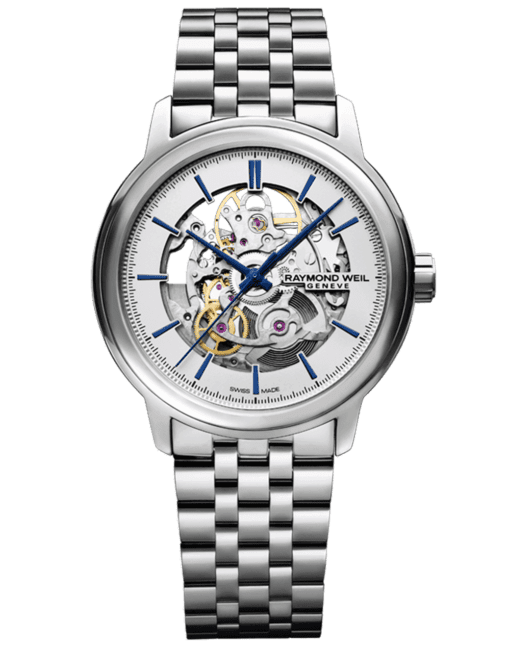 RAYMOND WEIL Men's Maestro Skeleton Luxury Swiss Watch
