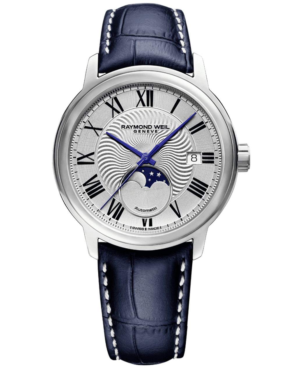 RAYMOND WEIL Men's Maestro Moonphase Luxury Swiss Watch