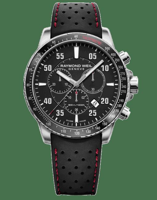 RAYMOND WEIL tango men's rubber strap chronograph 8570-sr1-05207