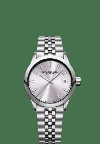 RAYMOND WEIL Lady Freelancer 5634-st-80021 rose gold watch