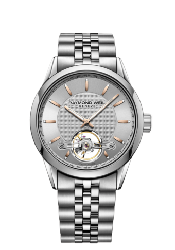 Freelancer - RW1212 Silver Open-worked Watch- RAYMOND WEIL