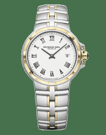 Raymond Weil Geneve Two tone Ladies Luxury Watch
