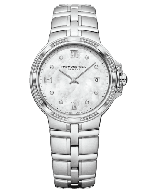 Ramond Weil Geneve Mother of Pearl Ladies Luxury Watch
