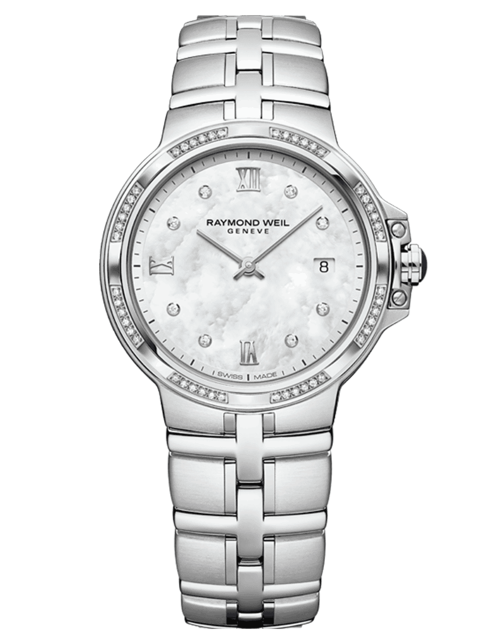 RAYMOND WEIL Geneve Mother of Pearl Ladies Luxury Watch