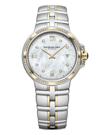 RAYMOND WEIL Geneve Two-tone Diamond Ladies Luxury Watch