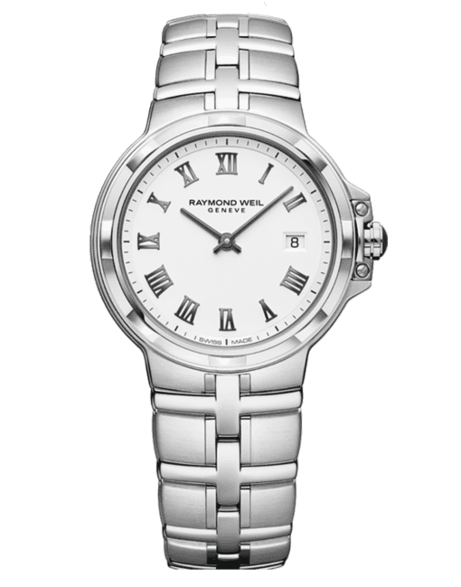 RAYMOND WEIL Geneve White Dial Ladies Luxury Watch