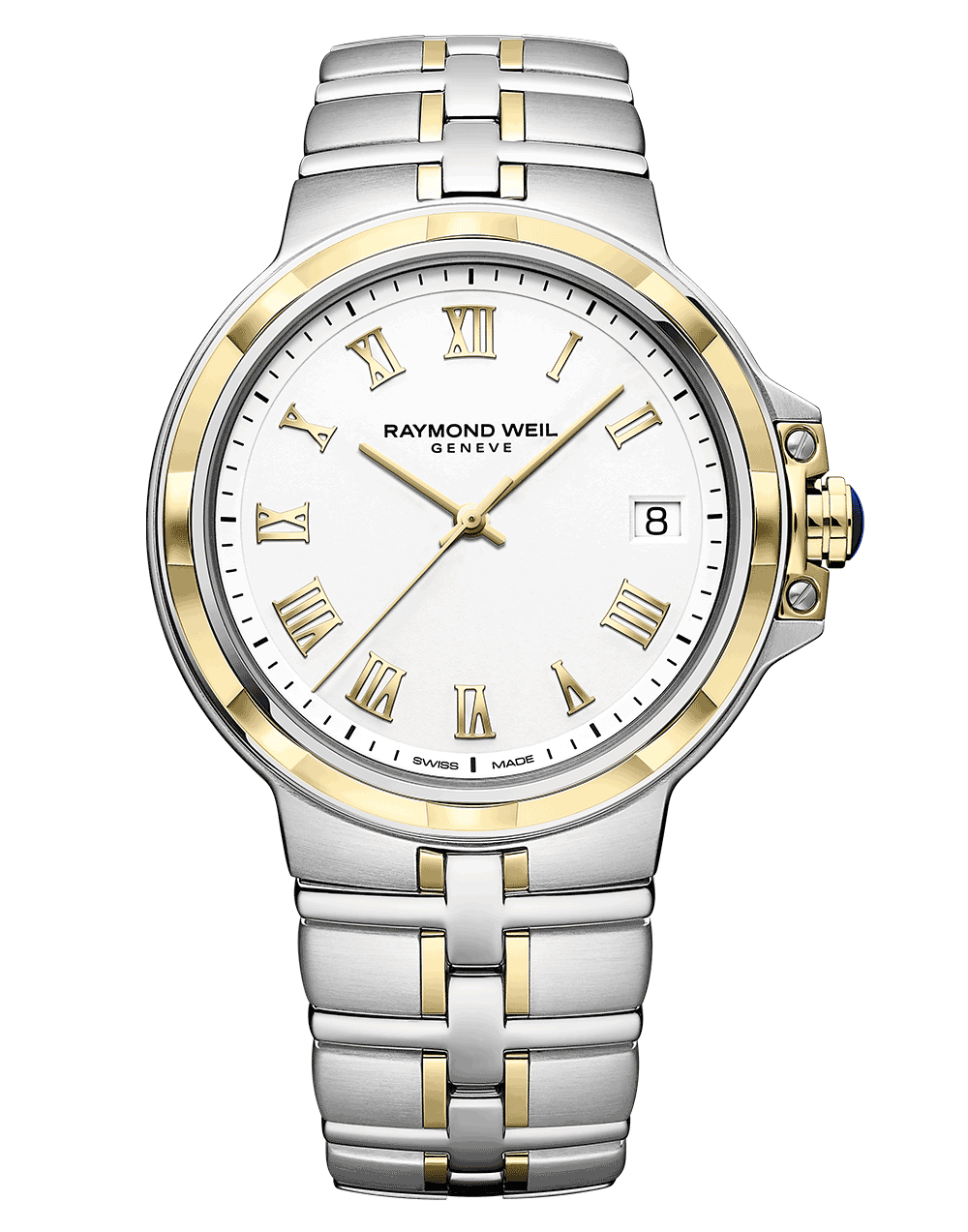 RAYMOND WEIL Geneve Men's Parsifal Luxury Two-tone Watch