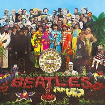 The Beatles Sgt Pepper Free Gift with Purchase Vintage Vinyl