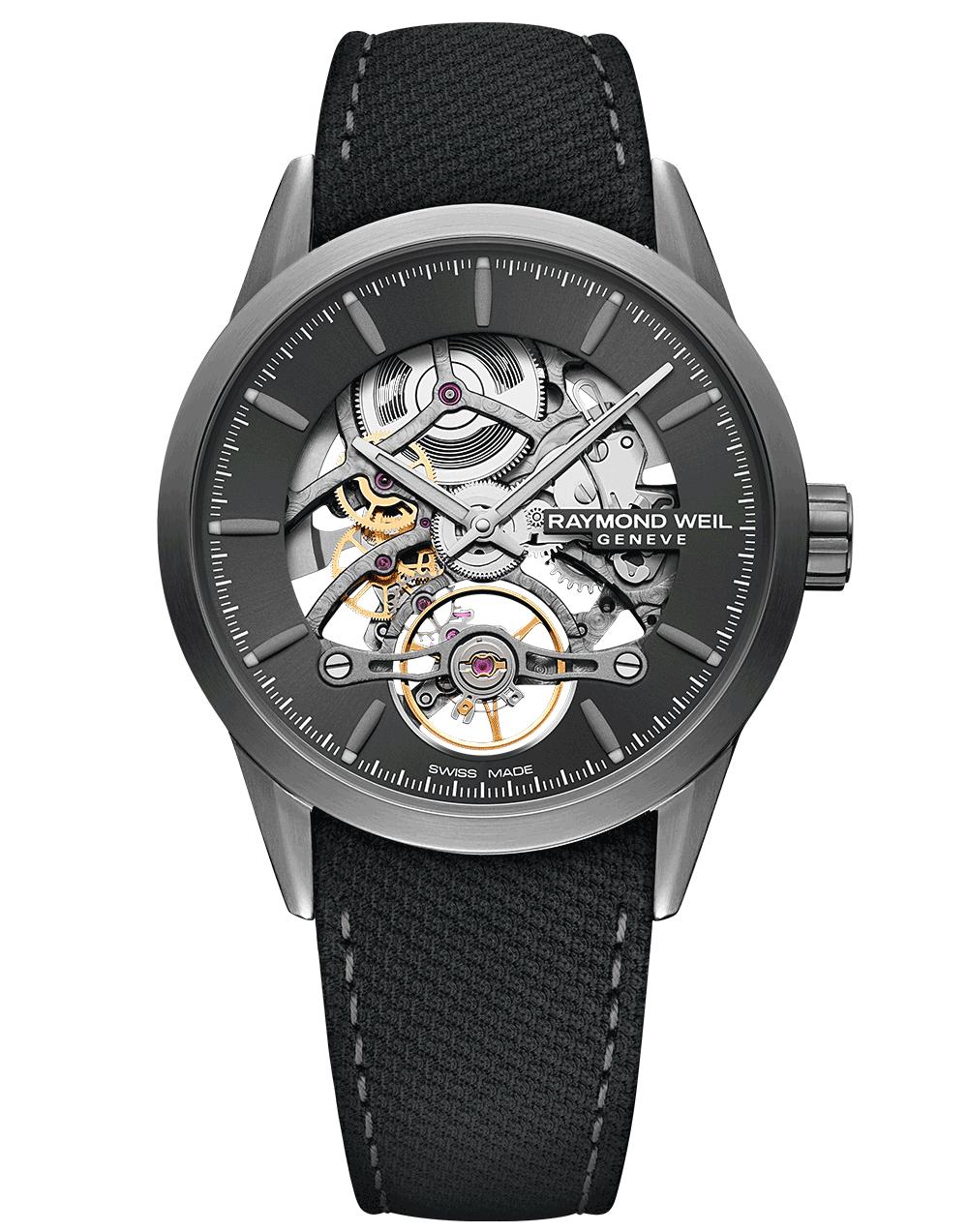 RAYMOND WEIL Men's Freelancer Skeleton Luxury Swiss Watch