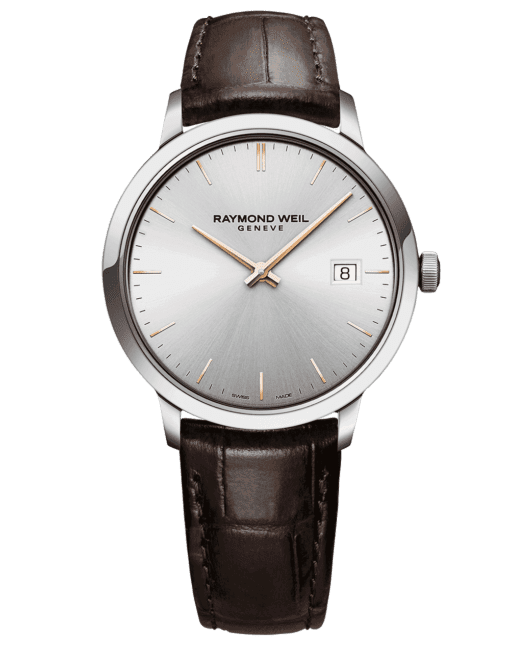 RAYMOND WEIL Geneve Toccata Silver Dial Men's Luxury Watch