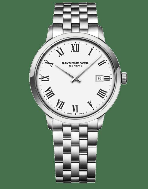 RAYMOND WEIL Geneve Toccata White Dial Men's Luxury Watch