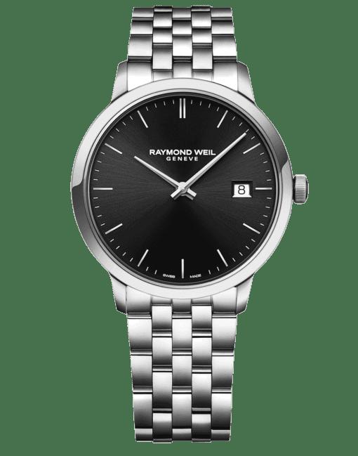 RAYMOND WEIL Geneve Toccata Black Dial Men's Luxury Watch