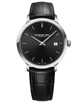 RAYMOND WEIL Geneve Toccata Black Dial Men's Luxury Watch