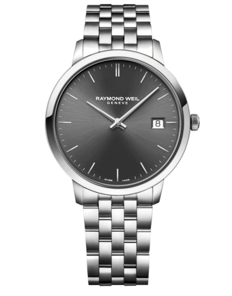 RAYMOND WEIL Geneve Toccata Grey Dial Men's Luxury Watch