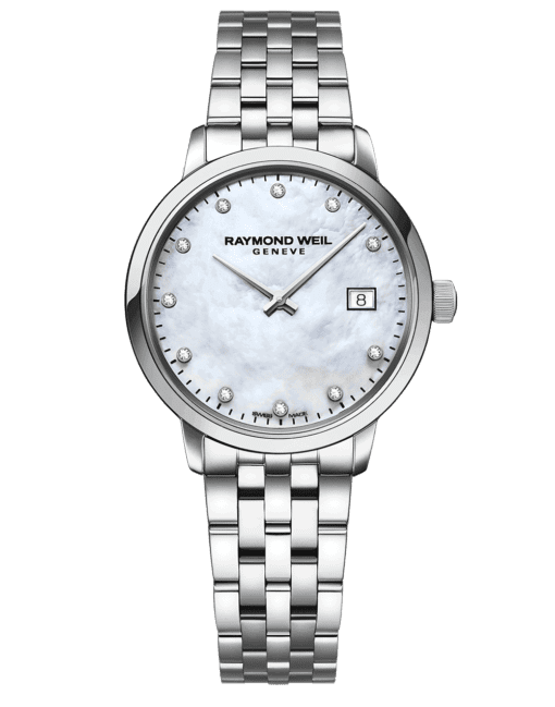 RAYMOND WEIL Geneve Toccata Mother of pearl Dial Women's Luxury Watch