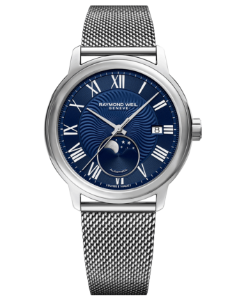 RAYMOND WEIL Men's Maestro Moon Phase Luxury Swiss Watch