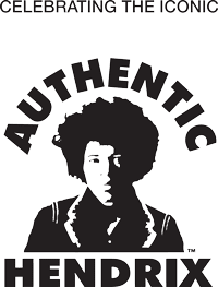 Authentic Jimi Hendrix Headshot logo